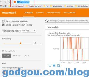tensorflow训练模型可视化工具Tensorboard的安装及使用
