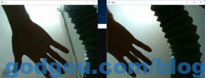 python+opencv调用双目同步摄像头模组